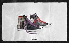 Harley Quinn/ The Joker shoes!
