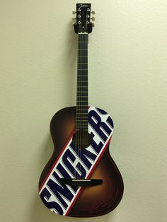 Snickers Promotional Guitars