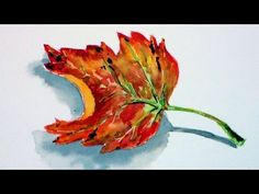 Let's Paint Gourds in Watercolors REAL TIME Tutorial & NEO Watercolor Review - YouTube