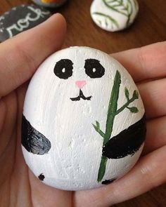 Easy Painting Ideas - Panda
