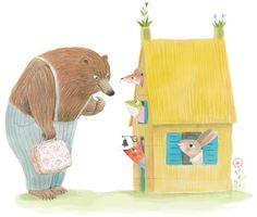 Mar Ferrero Illustration - mar ferraro, mar, ferraro, commercial, trade, picture books, fiction, educational, digital, traditional, novelty, animals, characters, animals, bears, rabbits, frogs, mice