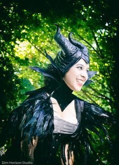 #Maleficent at #Dragoncon, shot by @dimhorizon, model Alyssa Torres, collar by #darkspectrecouture