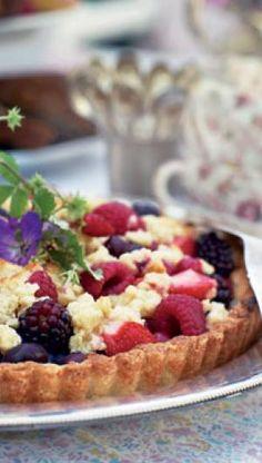 Sommertærte med bær | ISABELLAS