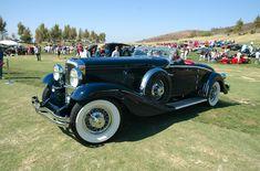 1934 Duesenberg Walker-LeGrand J534 convertible Coupe - dark blue - fvl1