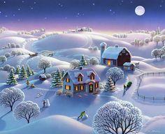 Christmas Tree Gif, Merry Christmas Animation, Merry Christmas Pictures, Christmas Scenery, Happy Merry Christmas, Christmas Greetings, Vintage Christmas, Merry Happy, Merry Christmas Wallpapers