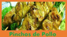 Comidas Rapidas y Faciles de Hacer - Pinchos de Pollo Satay
