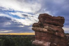 Balanced Rock At Sunrise - Garden Of The Gods - Colorado Springs Photograph  - Balanced Rock At Sunrise - Garden Of The Gods - Colorado Spri...