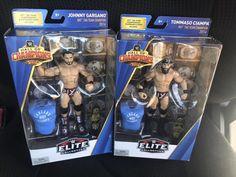 Eva BAF Daniel Bryan Ellsworth Mattel WWE Elite Wrestling Figure Lot: Rock
