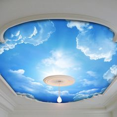 What can be better than a clear, blue, bright, beautiful sky, especially when it is not only outside of your house, but also inside?! Stretch ceilings are not just glossy or mat, white or red,black or blue, etc., but also are capable of printing any picture on their surface! This sky ceiling is a good example.  But if you don't like sky you can print a picture of forest, water, fire, even your son, daughter or any other person can be looking at you from above. All that is possible with…