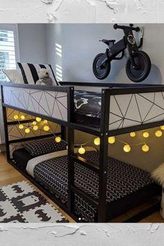 Add a little Jazz to your Ikea Kura bed with these 10 easy methods. Big Boy Bedrooms, Boys Bedroom Decor, Girl Bedroom Designs, Baby Boy Rooms, Ikea Bed Hack, Bed Ikea, Ikea Hacks, Toddler Rooms, Ikea Toddler Bed