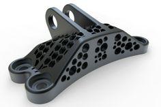 GE BRACKET - 04 - AJC - STEP / IGES, Other - 3D CAD model - By- Andrew J. Coyne - GrabCAD