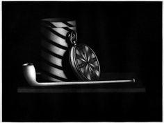 Manière noire à la montre,Mario Avati