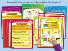 Common Core Math Practice Cards - Gr. 3