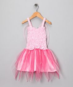 Take a look at this Pink Firefly Dress - Toddler & Girls by Fairy Dreams on #zulily today!