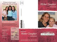 Mother Daughter Retreat May 10-11, 2013  Join Us