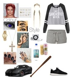 """Untitled #213"" by lumsdenk on Polyvore featuring MICHAEL Michael Kors, Juicy Couture, NIKE, Go Under and Aéropostale"