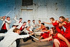 """I see your """"Coolest Bridal Party"""" and raise you our wedding party. - Imgur"""