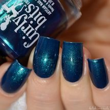 Swatch courtesy of Delishious Nails | GIRLY BITS COSMETICS Phrasing from the Codename: Duchess Collection