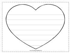 Freebie ValentineS Day Writing Paper Here Are  Free Pages Of