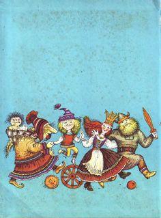 çizgili masallar: Katherine Shtanko, Norwegian Fairy Tales