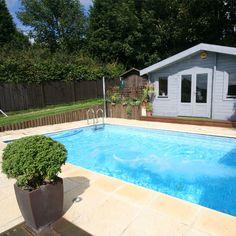 Diy fibreglass pools avanti range sizes and designs for Pool showrooms sydney