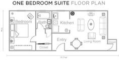hotel floor plan - one bedroom - shadysideinn pittsburgh pa