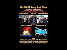 Candi Vee of SUCKER on The MARR Army Rock Show - 6-4-15 - YouTube