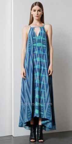 Monet Printed #Maxi by EDM Private Collection #edressme