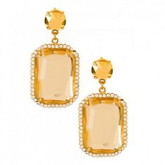 Spartina 449 Gem Earrings from #Borsheims for $50. #Bridesmaides #Greatgift