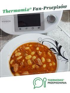 Fasolka po bretońsku jest to przepis stworzony przez użytkownika joanna.lig. Ten przepis na Thermomix® znajdziesz w kategorii Dania główne z mięsa na www.przepisownia.pl, społeczności Thermomix®. Chana Masala, Food And Drink, Ethnic Recipes, Diet, Thermomix Soup, Polish Food Recipes, Easy Meals, Chef Recipes, Cooking