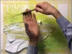 Watch this video clip for watercolor lessons on how to achieve accurate perspective, masking tips for the details, how to paint wet-into-wet for smooth skies, and spattering techniques for realistic foliage. Then visit http://ArtistsNetwork.tv for access to the full-length video workshop--Two-In-One Watercolor with Joe Francis Dowden.