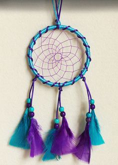 Handmade-Dreamcatcher-Car-Wall-Hanging-Ornament-by-Turkey-feather-Noble-Chinas