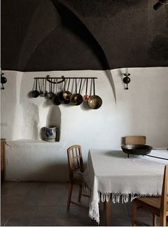 Stefano Scata, Italy - South Tyrol - Detail of the kitchen at Ansitz Zehentner