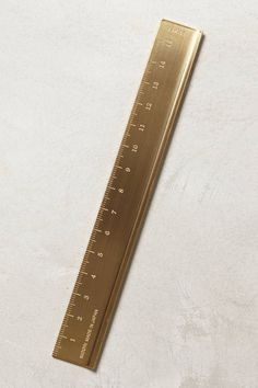 Brass Ruler #stockingstuffer