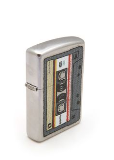 Reminds me of Mixed Tapes! Old school! If you rock'd the mixed tape back in the day... you are worthy to repin this. If not... I'm sorry for your childhood. Go ahead and repin it anyway. But only if you really do dig it. NO posers.  #zippo #retro #80schick
