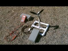 Homemade Wind Turbine Generator! - Wind Power Generator! - simple DIY (runs radio!) - YouTube