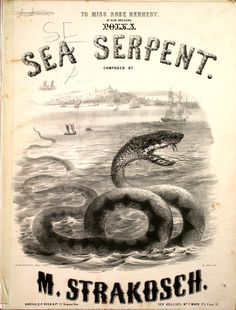 What do you do when you see a sea serpent?  Why dance the Polka of course!