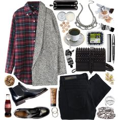 """Arrows land, we're falling"" by steffywhoelse on Polyvore"