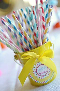 Rainbow Birthday Party Ideas For Kids Photo 6