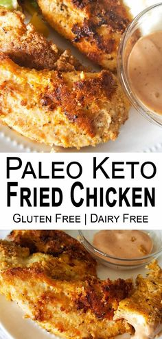 These Paleo Keto Fried Chicken Tenders are fabulous! Prepare for tender, juicy, and flavor-packed chicken tenders that make a rockstar addition to any meal! Fried Chicken Dinner, Keto Fried Chicken, Low Carb Chicken Recipes, Healthy Chicken, Almond Recipes, Paleo Recipes, Low Carb Recipes, Dinner Recipes, Yummy Recipes
