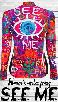 Our See Me Long Sleeve Jersey design in bright fluoro colours and great reflective elements. Be bright, be seen, be safe. Beautifully cut and made with superb fabrics, these long sleeve jerseys are super comfortable to wear. Women's Cycling Jersey, Cycling Jerseys, Cycling Quotes, Cycling Art, Ironman Triathlon, Bike Style, Bicycle Design, Cycling Outfit, Stay Warm