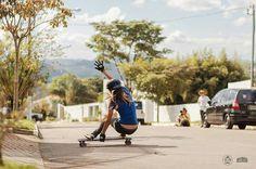 Isabela Barros from Brazil killing it!!! By Longboard Girls Crew.