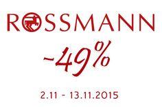 Rozaneczka: PROMOCJA -49% W ROSSMANN
