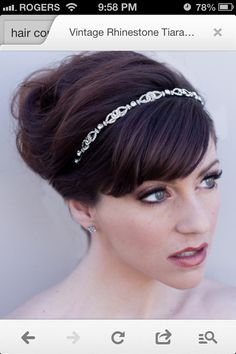 Hair Band for wedding.