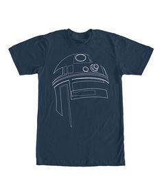Navy Star Wars Simple R2-D2 Tee - Men's Regular on #zulily *perfect for Dad