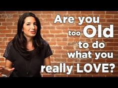 Press play if you've ever wondered if you're too old to do what you love. Marie will set you straight! For more #business and life advice, sign up for the newsletter at www.marieforleo.com.