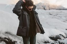 Hey guys! The folks from @unitedbyblue here - well be taking over @folkmagazines instagram feed for the day to walk you through the thought and detail thats gone into creating the Ultimate American Jacket our brand new winter coat insulated with the heat-retaining power of bison fiber. As of a few minutes ago the Ultimate American Jacket is available to be preordered on Kickstarter - check it out at http://ift.tt/1VOwjl1.