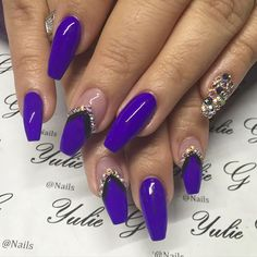I love this shade of purple!