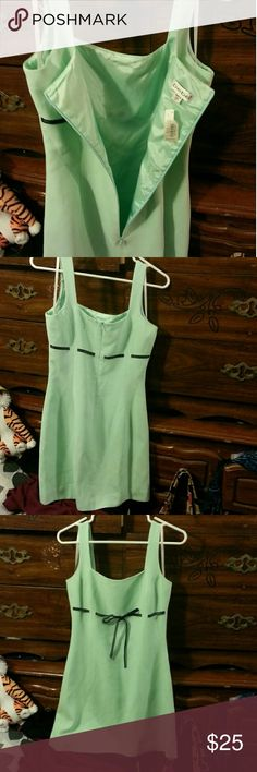 Bebe Dress Aqua 1in strap never worn tag attached bebe Dresses