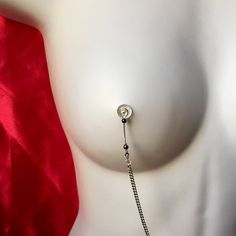 Decorate nipples! #burlesque  #stripper #showgirl #nudists #girlsnite #girltime #boobs #nipplerings #bodychain